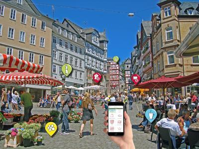 Digitale Marketingkonzepte für eine attraktive Innenstadt