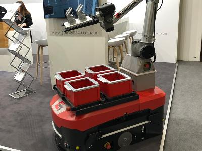 Der Einsatz von automatisierter Handlings- und Transporttechnik trägt dazu bei, dass Mensch und Unternehmen von Haus aus auf der sicheren Seite unterwegs sind