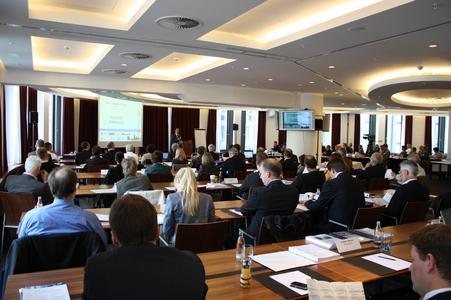 Das aufmerksame Auditorium der Datenschutz- und Datensicherheitskonferenz.