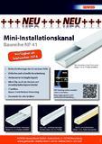 [PDF] Pressemitteilung: Neue Mini-Installationskanäle der GEWISS Marke Nowaplast