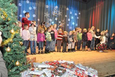 WBS spendet für 50 weitere soziale Projekte – auch in Deutschland, wie z.B. die Kinderweihnachtsfeier der Delitzscher Tafel (c) Delitzscher Tafel