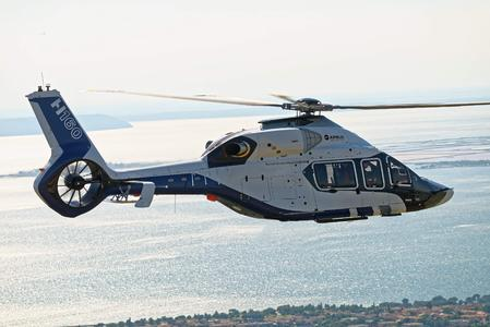 Airbus Helicopters H160 Flight Test campaign launched (© Copyright Thierry Rostang - 2015)