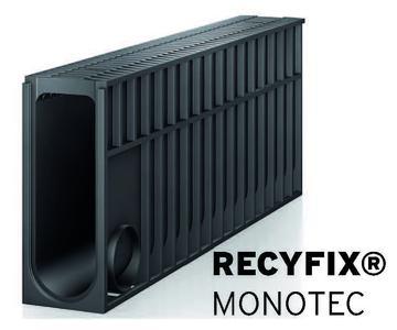 Das monolithische Entwässerungssystem Recyfix Monotec