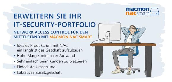 macmon NAC smart - lukrative Netzwerksicherheit für den Mittelstand