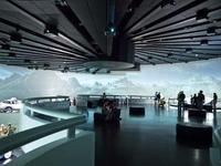 360 Grad Projektion aus insgesamt 18 Projektoren