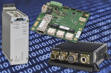 Rugged 5 Port Gigabit Ethernet Switch