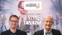 Dr. Michael Gerards und Günther Illert von den Healthcare Shapers stellen beim Online-Talk mit dem neuen Partner VR Business Club die Chancen und Herausforderungen in der Nutzung von VR und AR in Pharma- und Gesundheitsindustrie vor