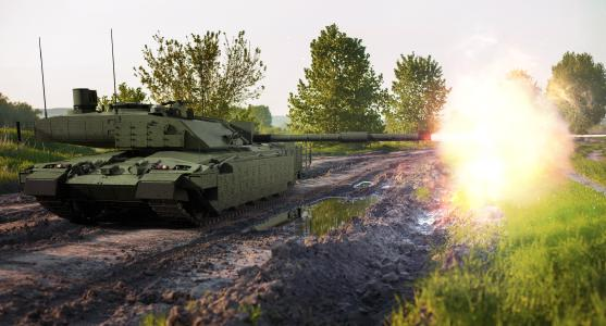 Rheinmetall Challenger 2