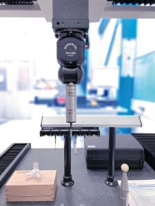 Die 3D-Messmaschine Wenzel SF 55 ergänzt den Messraum von Rodriguez und wird dort eingesetzt, um Serienprodukte aus der Eigenfertigung zu kontrollieren.