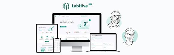 LabHive: TÜViT-Studierende engagieren sich durch Entwicklung digitaler Plattform im Kampf gegen Covid-19