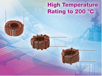 Vishay's New Toroidal High-Temperature Inductor Offers Industry's Lowest Inductance Down to 0.47microH and Lowest DCR with Vertical- and Horizontal-Mount Options