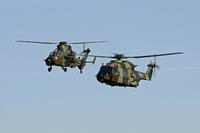 Airbus Helicopters delivers the first NH90 and the first two HAD-E Tigers to the Spanish Ministry of Defense