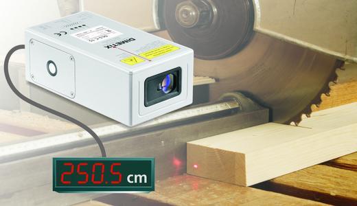 DLS-C - Berührungslose Distanzmessung mit externer Messwertanzeige