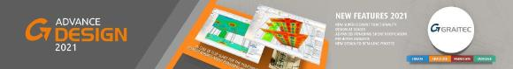 Graitec veröffentlicht die Version 2021 seiner Hero-Produkte: Advance PowerPack, Advance Design, Advance Workshop and Graitec Opentree