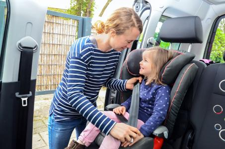 Kindersitze im Auto