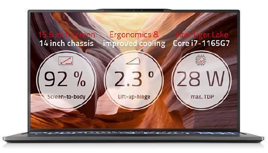 Das neue TUXEDO InfinityBook S 15