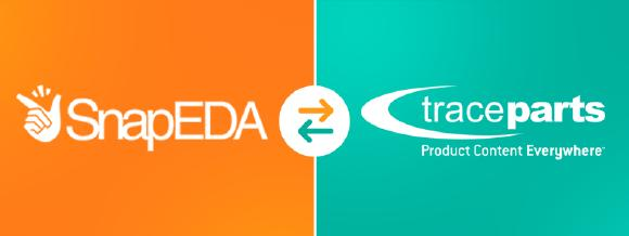 Elektroingenieure können problemlos Millionen von Designressourcen von TraceParts.com und SnapEDA.com herunterladen.