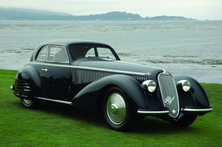 Concorso d'Eleganza Villa d'Este 2009: AlfaAlfa Romeo 8C 2900B, Berlinetta, 1938, Besitzer Jon Shirley
