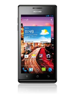 Beauty meets brains: HUAWEI Ascend P1