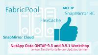 NetApp Data ONTAP - profitieren Sie von den Vorteilen der Updates 9.8 und 9.9.1