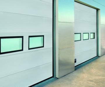 sektionaltore von assa abloy entrance systems begeistern. Black Bedroom Furniture Sets. Home Design Ideas