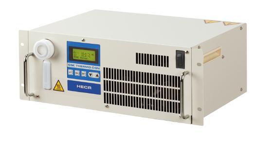 Die wassergekühlten Kühl- und Temperiergeräte der Serie HECR produzieren kaum noch Abwärme. Sie sind rund 28 % flacher und 50 % sparsamer in der Leistungsaufnahme als ihre luftgekühlten Pendants dieser Serie