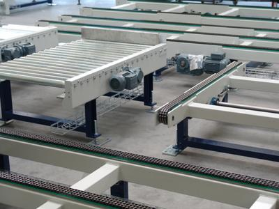 The complete conveying and stocking technology for empty and full package units has been handled by the newly founded HAVER & BOECKER subsidiary HAVER Intra Logistics Systems since early this year