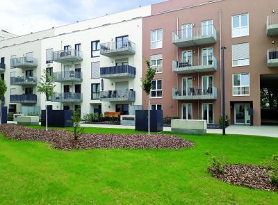 Unter all diesen Grün- und Belagsflächen der Noltemeyer Höfe befinden sich stolze 5.780 m² Retentionsfläche.