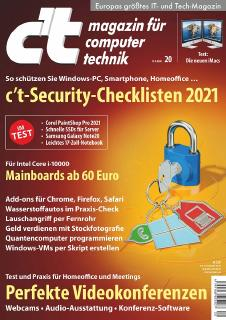 c't-Security-Checklisten