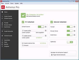 Avira stellt Antivirus Pro vor - leistungsstarkes Herzstück mit bisher schnellster Malware-Engine