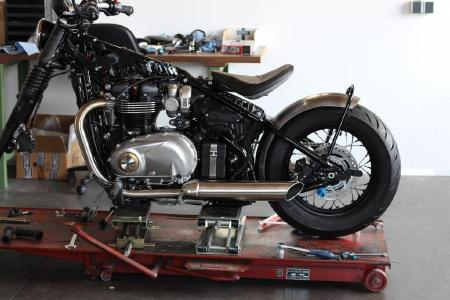 WK-Custom: neues Motorradzubehör in der Entwicklung