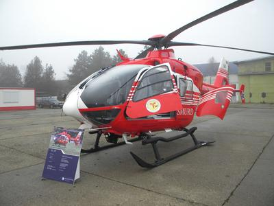 Eurocopter Romania delivers a new EC135 to the Romanian Ministry of Health
