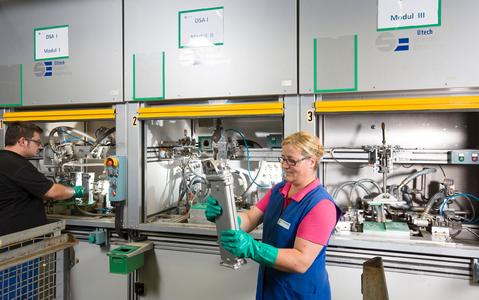 Successful production startup at new Pierburg plant