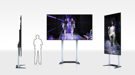 "ScreenLifter MOBILE LED 130 für OPTOMA 130"" FHDQ130 QUAD LED-Display"