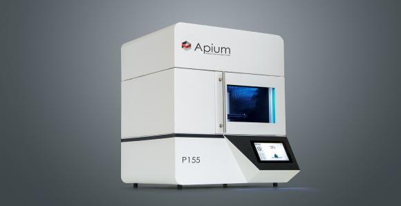 Apium P155 - high-performance polymer Fused Filament Fabrication 3D printer