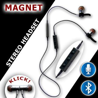 Magnetisches In-Ear-Bluetooth-Headset 4.1