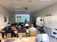 Internationaler Workshop im Rahmen des Fernstudiums Internationale Betriebswirtschaftslehre (MBA)  / Foto: Hochschule Ludwigshafen am Rhein