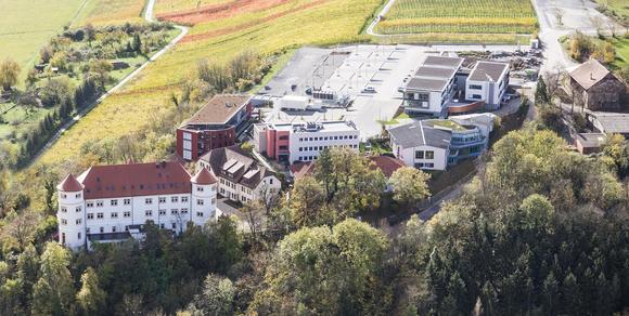 Die Hohenstein Institute in Bönnigheim ©Hohenstein Institute