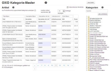 Kategorie Master