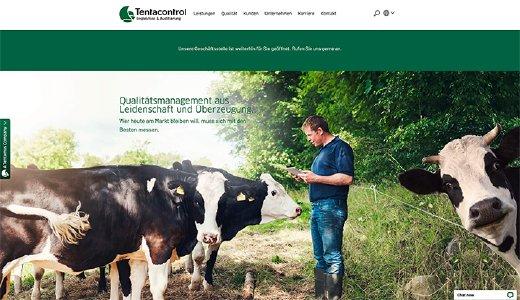 Tentacontrol GmbH – Relaunch der Website