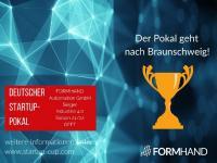 FORMHAND gewinnt den Deutschen Startup-Pokal