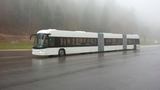 Luxembourg orders double articulated hybrid buses with battery drive from Hess and Vossloh Kiepe