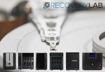 NAS Datenrettung durch RecoveryLab