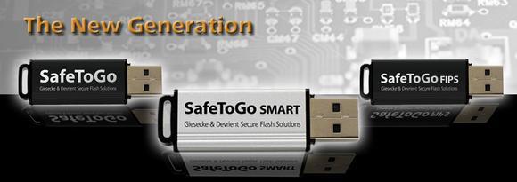 Die neue Generation hardwareverschlüsselter USB-Sticks: SafeToGo
