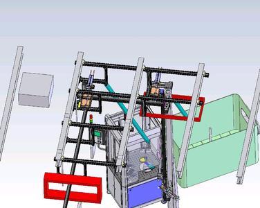 Der Weg der PMMA-Scheiben führt in rund vier Metern Höhe durch die Decke des Reinraums in einen neuen Anbau.