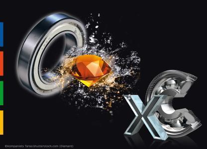 Foto: ©Kompaniets Taras/shutterstock.com (Diamant)