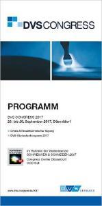 Titelblatt des Programmheftes zum DVS CONGRESS 2017