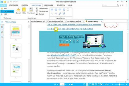 PDF-Dokumente bearbeiten wie ein Profi: PDFelement Professional