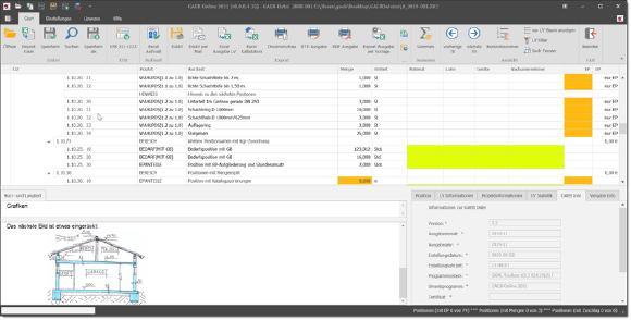Neue Version GAEB-Online 2021