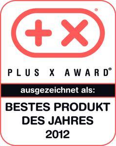 GEZE Plus X Award Bestes Produkt 2012
